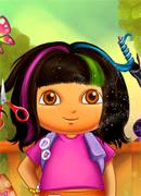 Модные прически Даши - Онлайн игра для девочек