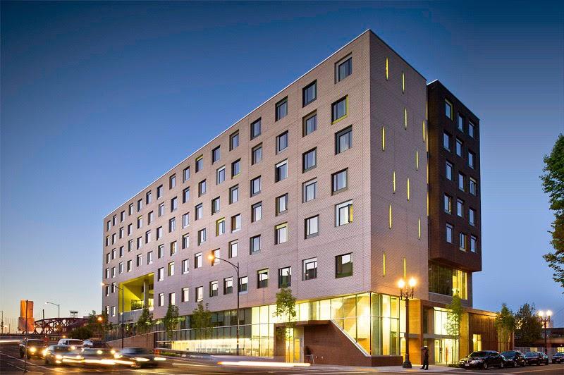 Edifício sustentável em Portland