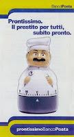 Prestiti personali: il piccolo prestito di Poste Italiane, Prontissimo Bancoposta