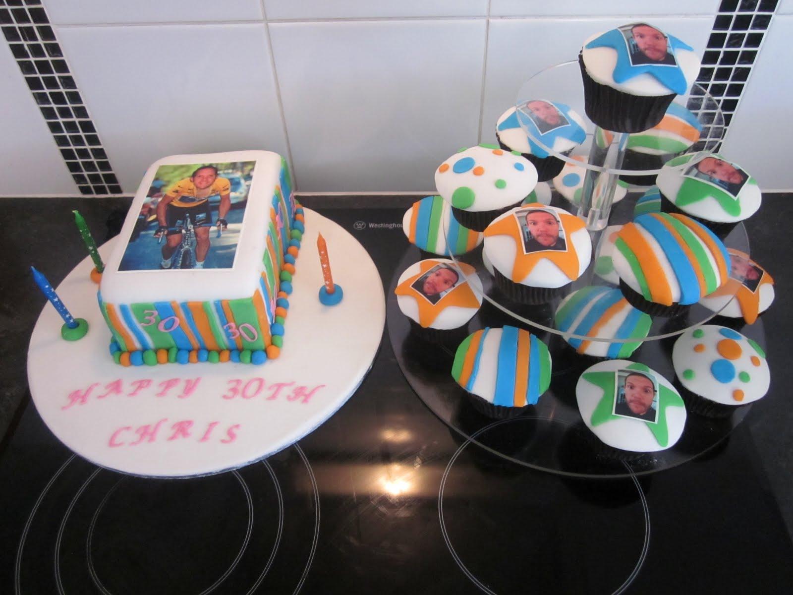 30th Birthday Party Bad Taste Themed Cake