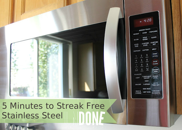 UNDONE: Super easy way to clean stainless steel