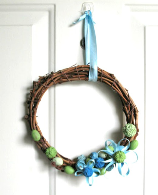 Grow Creative Blog Spring Wreath Tutorial
