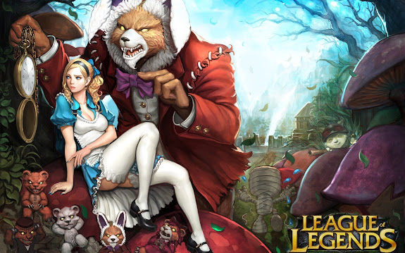 annie in wonderland skin splash league of legends hd wallpaper lol girl