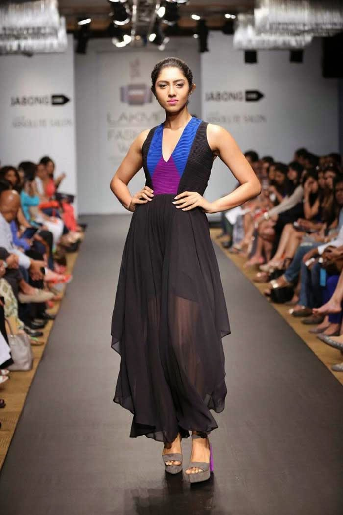 Veda Raheja's creation at LFW Summer Resort 2014