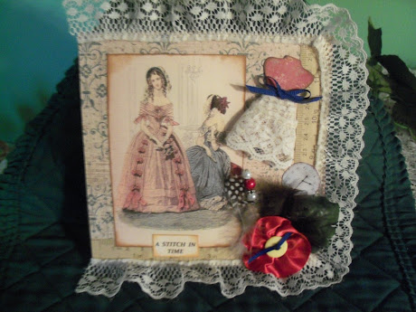 Vintage Sewing Room page swap