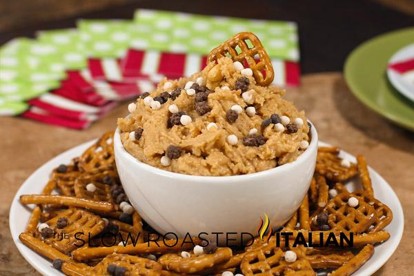 http://www.theslowroasteditalian.com/2013/01/peanut-butter-fudge-dip.html