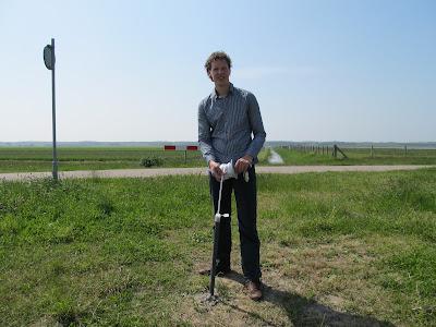 grondwaterkwaliteit meting peilbuis plaatsen Den Helder