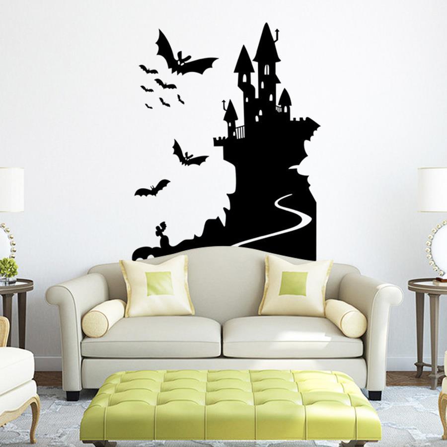 Icono interiorismo decora tu hogar en halloween con for Vinilos decorativos hogar