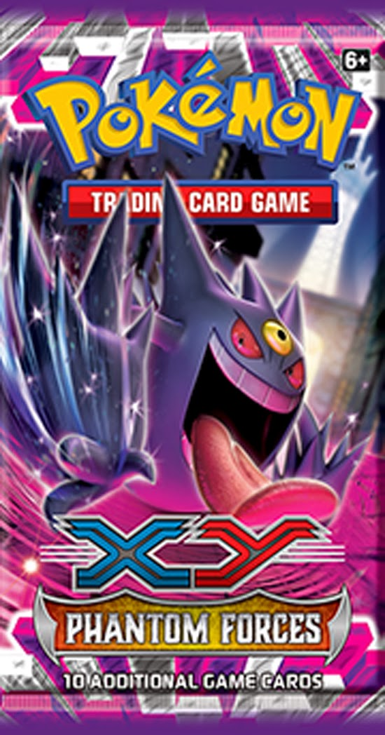 Key features of pok 233 mon tcg xy phantom forces include