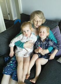 Editor and Granddaughters