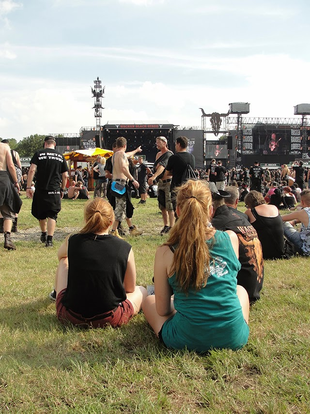 ruivas  no Wacken