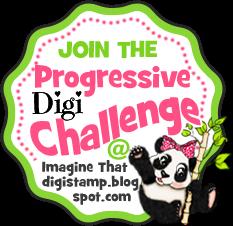 Imagine That Digistamps Progressive Digi Challenge