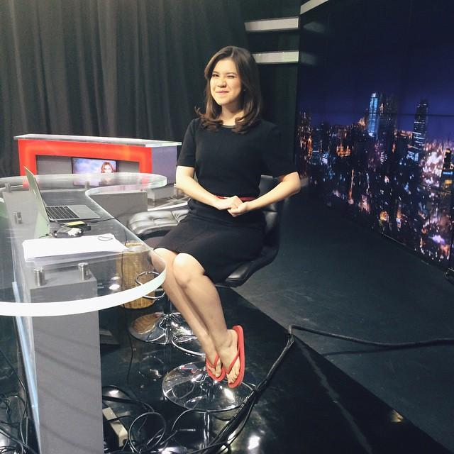 krizia alexa metro tv presenter cantik indonesia