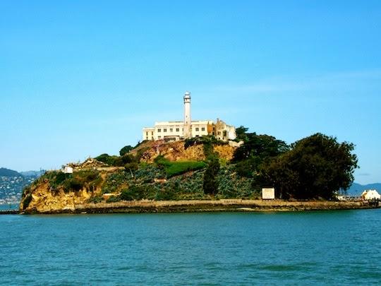 Alcatraz Island and prison San Francisco
