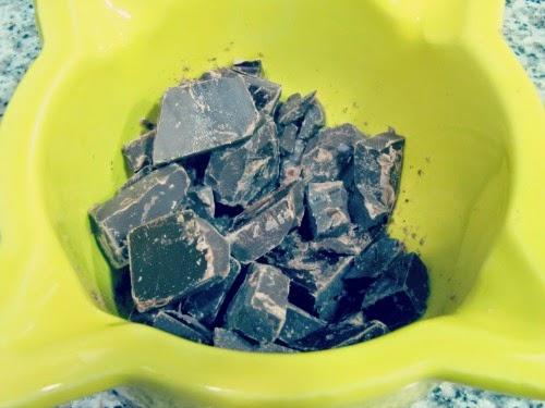 Chocolate troceado