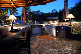 The Centerpiece Of Your Outdoor Kitchen Is A Built In Grill Consider