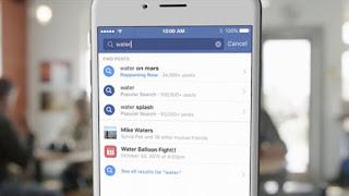 Η Facebook στο κυνήγι της Google με λειτουργία αναζήτησης σε όλα τα posts του κοινωνικού δικτύου [Video]