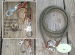 8 foot Green Roping Reins