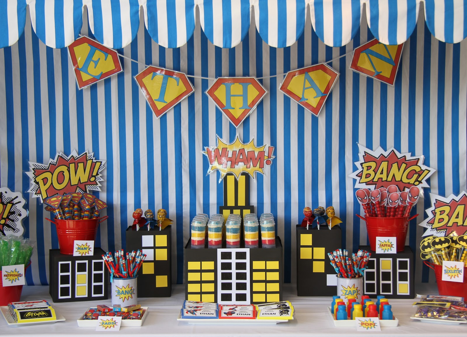 Leonie39;s Cakes and Parties.. .: SUPERHERO PARTY
