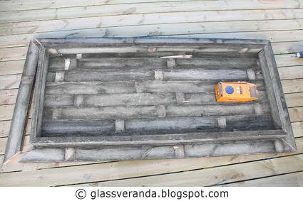 Glassveranda: Gjør-det-selv/DIY: Gamle grå rustikke terrassegulv ...