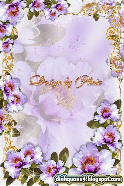 Photo frame - Luxury flowers