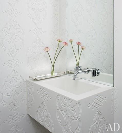 To Da Loos: Wallmount Sink Faucet Backsplash Ideas Plus