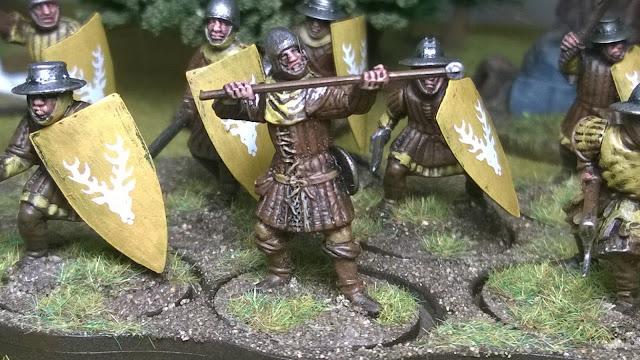 salute 2015 agincourt archer figure miniature plastic lions rampant