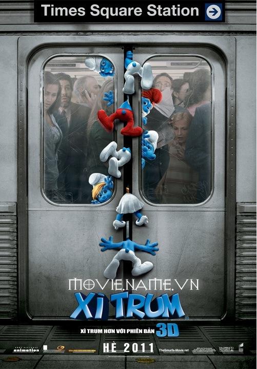 THE Smurfs 2011,Xì trum, xi trum 3D, hoat hinh, vui nhon, download, phim hoat hinh, tai phim,