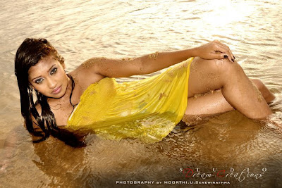 Srilankan Model Fallon Michelle hot