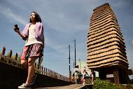 【「下条茅葺きの塔」 「蓮平いけばなの家」 「家の記憶」「最後の教室」越後妻有アートトリエンナーレ「大地の芸術祭2012」その3】