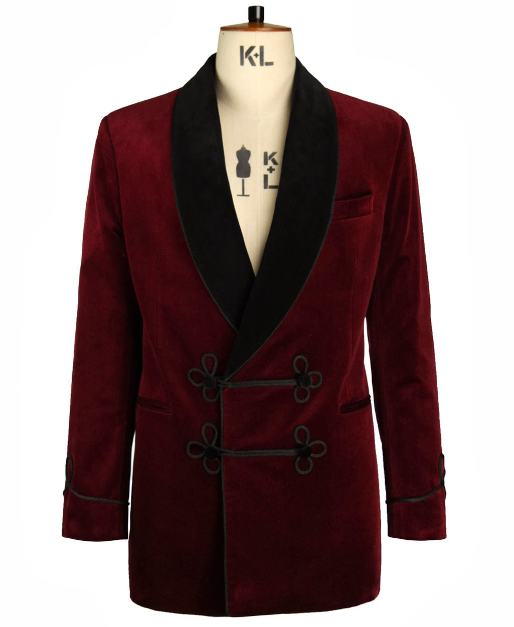 New Yorker Smoking Jacket. Luxurious smoking jacket, handcrafted Collar. This is the Famous New yorker style Smoking Jacket. Textured Soft Feel With Poly / Satin Lining.