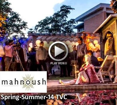 Mahnoush Spring-Summer 2014 TVC