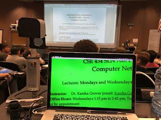MacBook with Magnilink cctv and large print keyboard skin