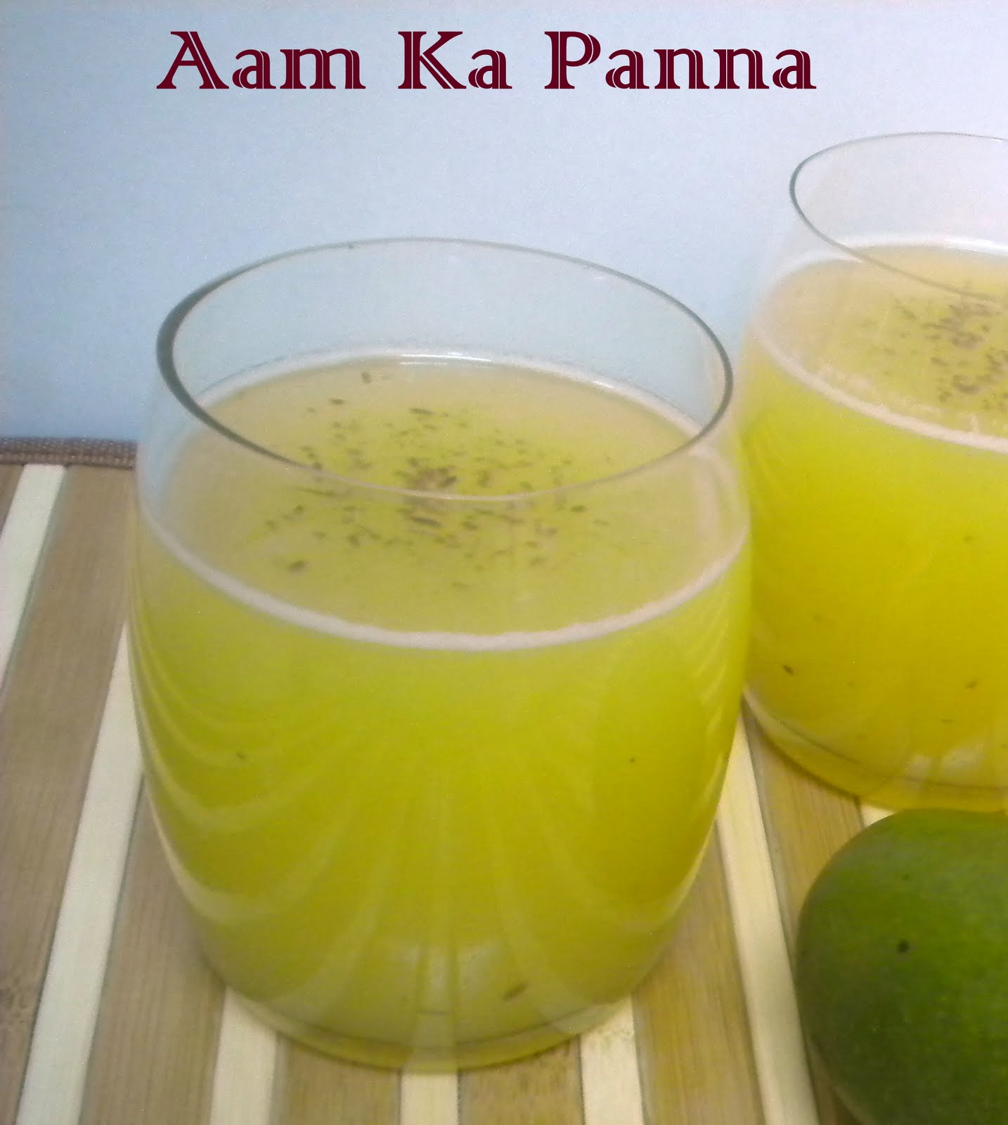 Palakkad Chamayal: Aam Ka Panna
