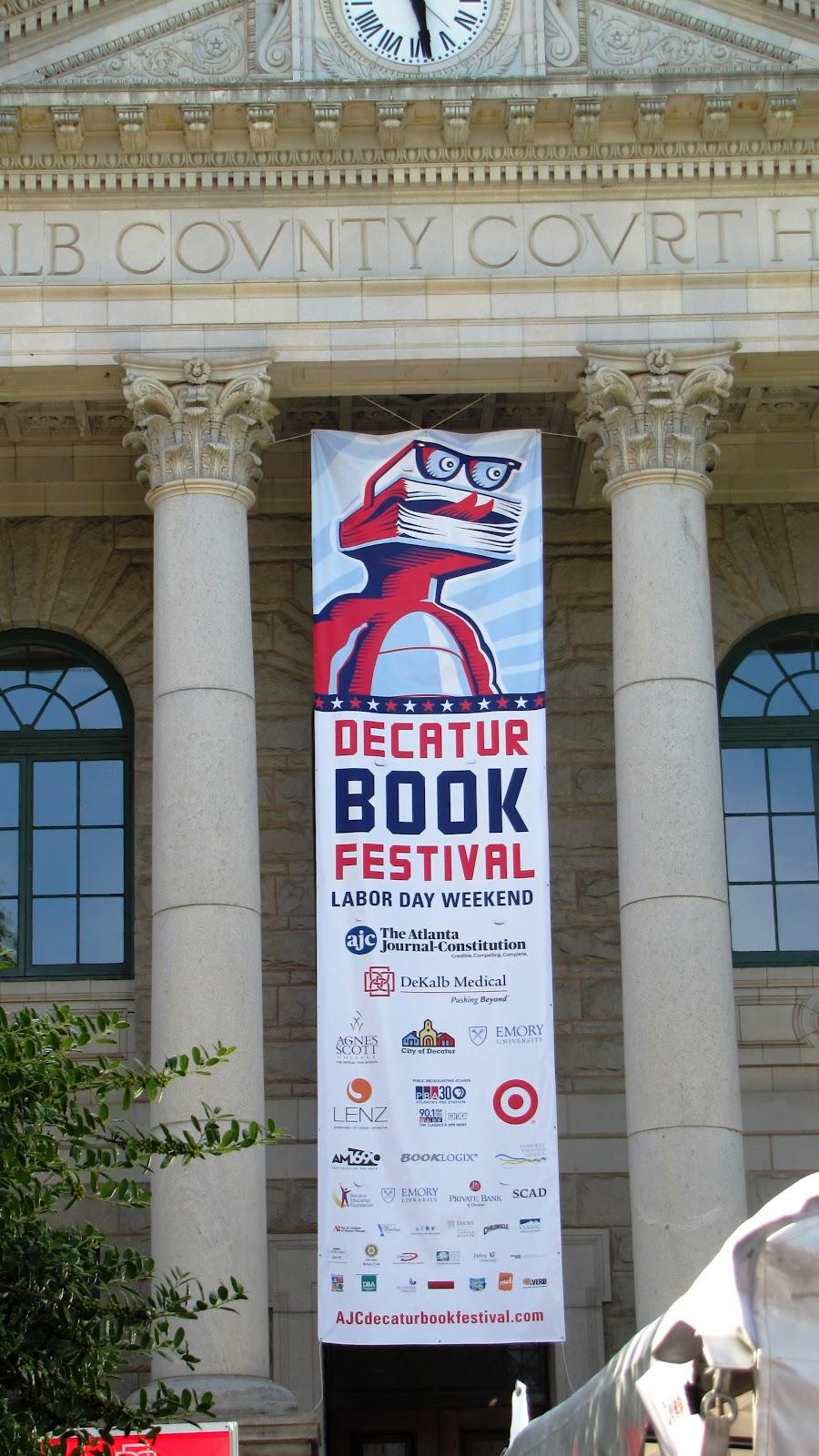 Decatur Book Festival 2012 border=