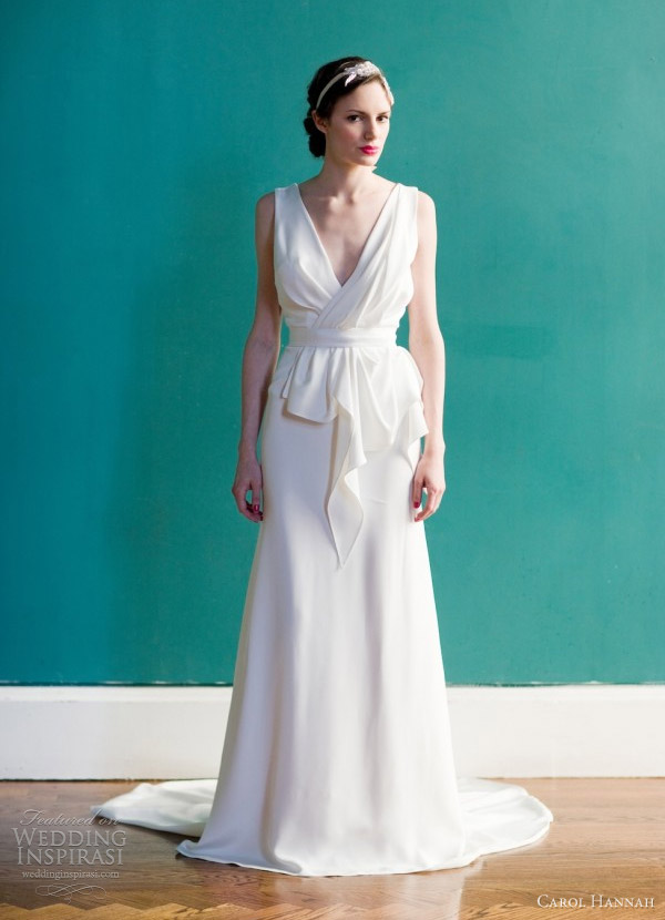 Honey buy carol hannah spring 2013 wedding dresses for Carol hannah wedding dresses