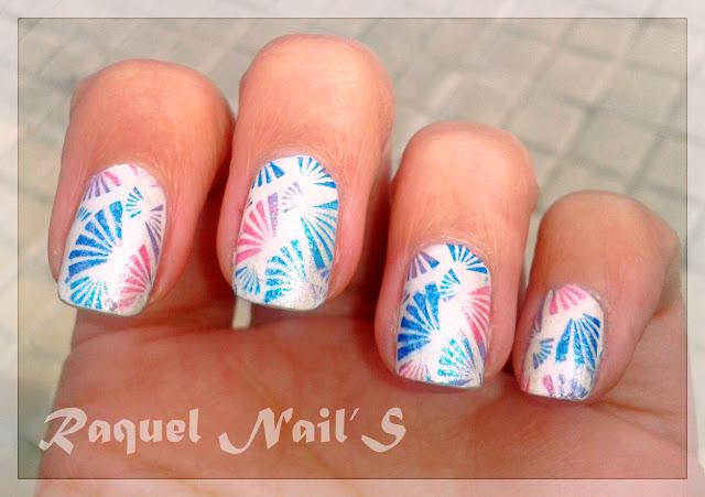 nail art Abanicos