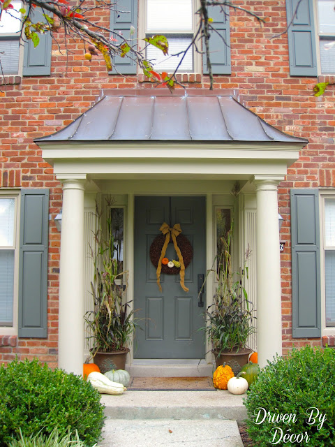 think for loads of other ideas about decorating your outdoor entry