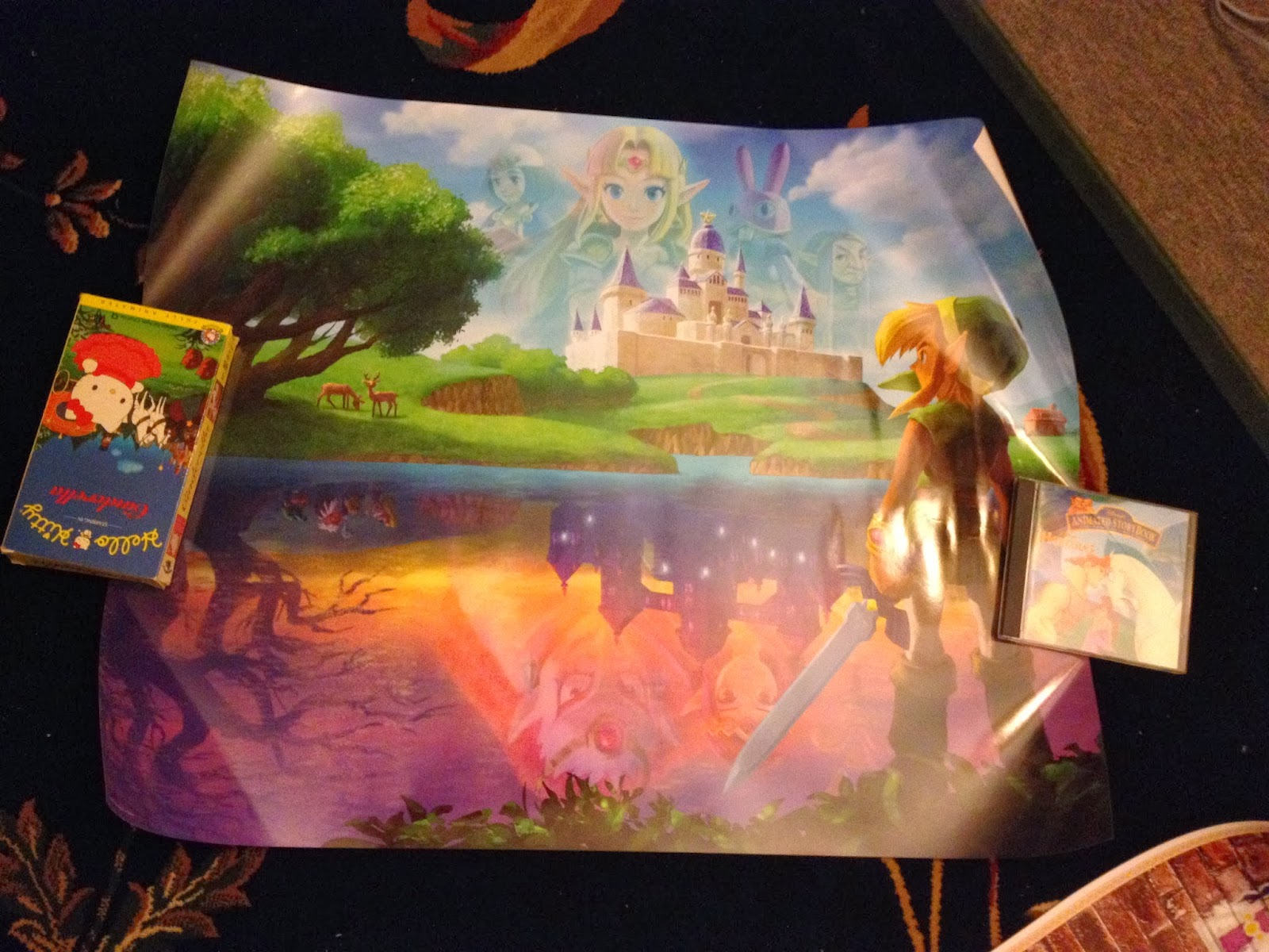 Displaying 19 gt  Images For - A Link Between Worlds Poster   A Link Between Worlds Poster