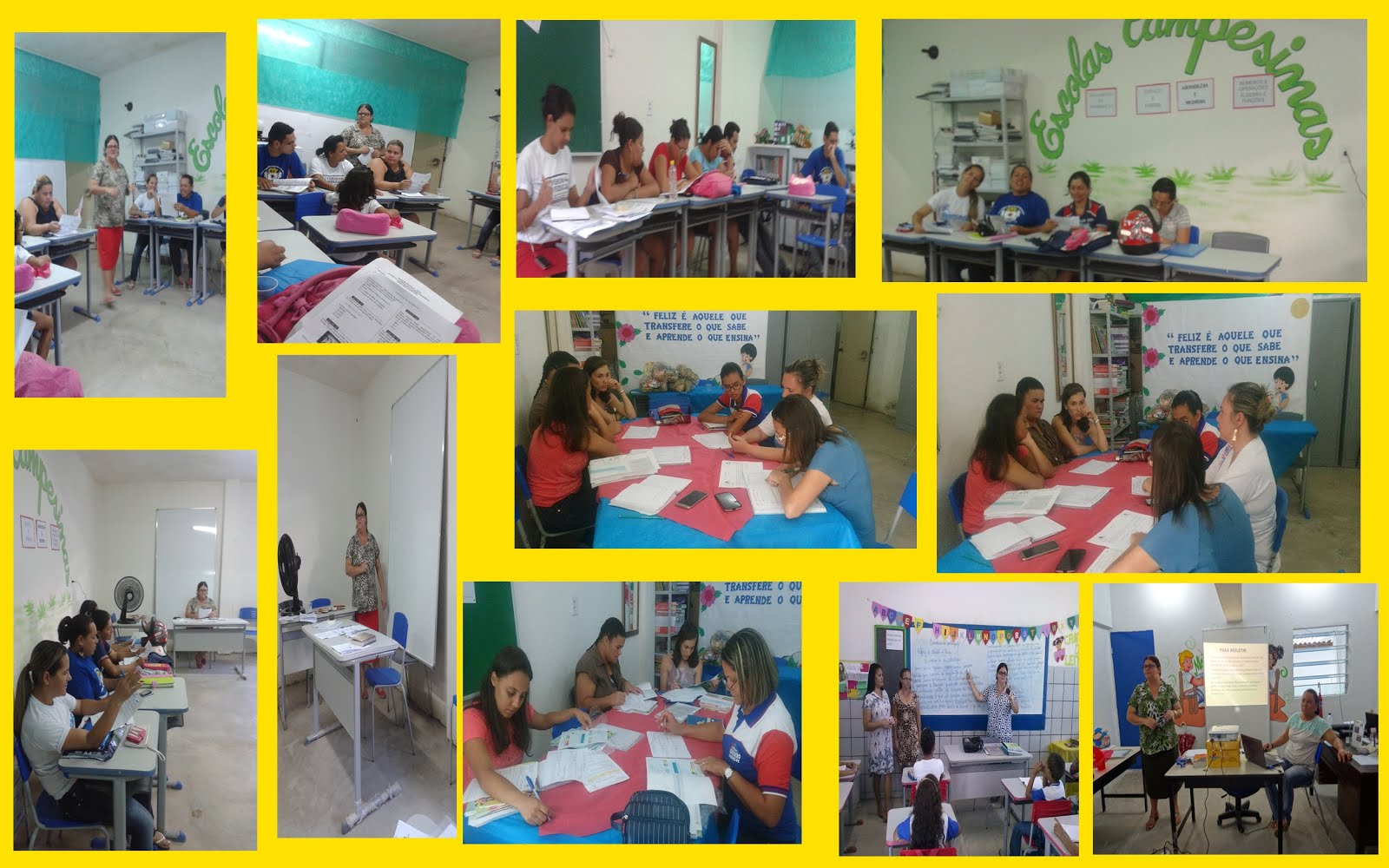 Reuniões pedagógicas