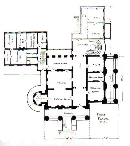 Gods and foolish grandeur belle grove une maison perdue for Plantation floor plans