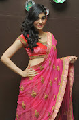 Adah Sharma Gorgeous in Pink Saree-thumbnail-2