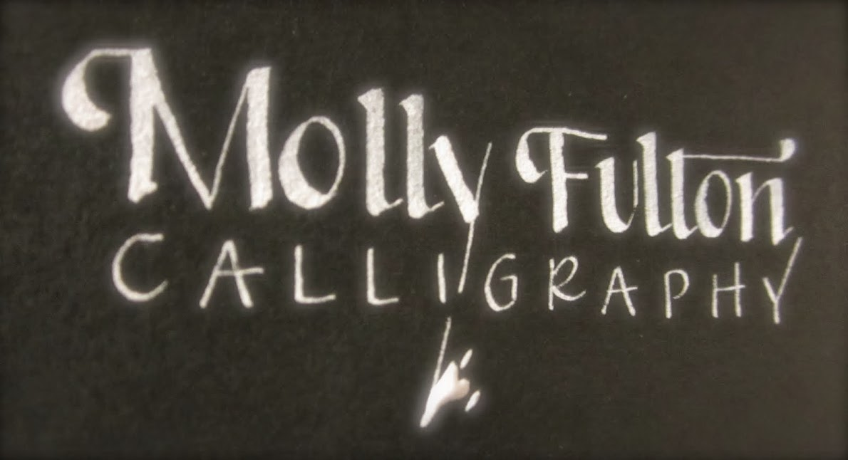 Molly Fulton Calligraphy