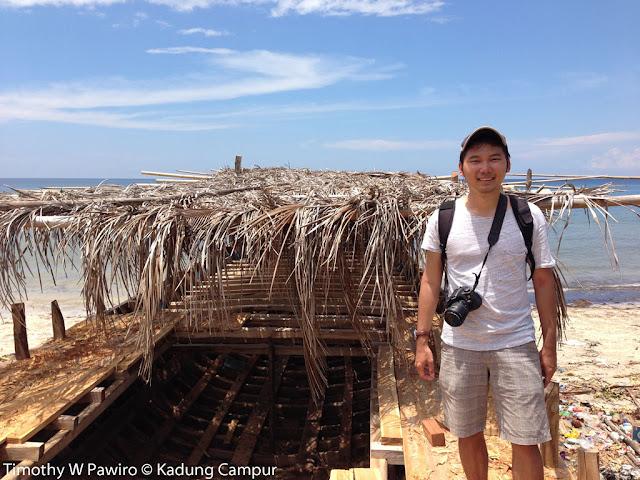 Indonesia - Sulawesi Selatan - Tana Beru - Me on a Kapal Phinisi