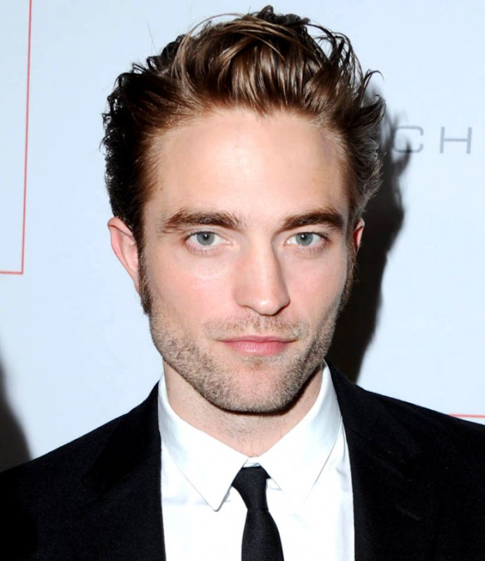 Robert Pattinson at GO Campaign gala with FKA twigs Kate Hudson