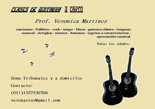 clases guitarra canto tribunales buenos aires
