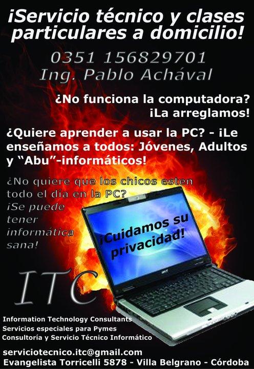 ITC - El mejor servicio técnico para PCs