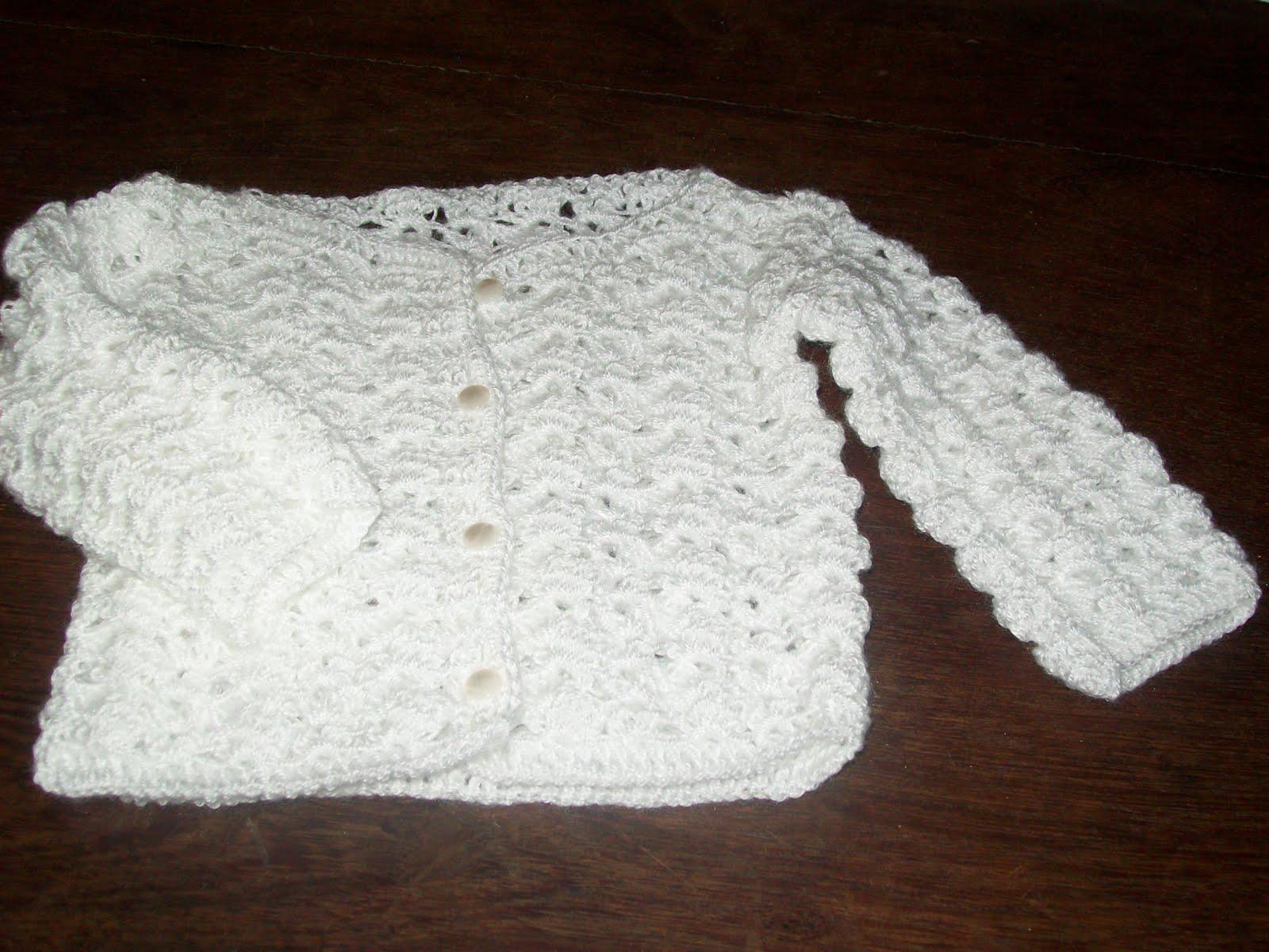 Abuela Cata Tejido de Diseño: Ropa de bebé tejida al crochet