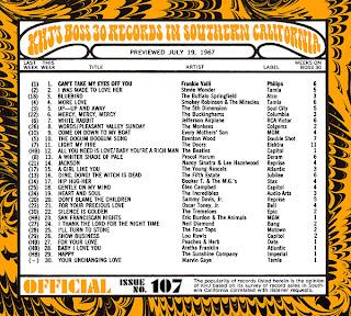 KHJ Boss 30 No. 107 - July 19, 1967