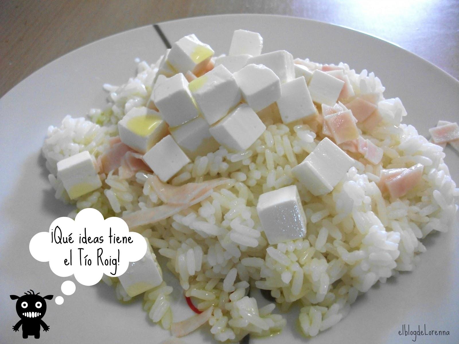 El blog de Lorenna: Comida rápida: arroz en 3 minutos